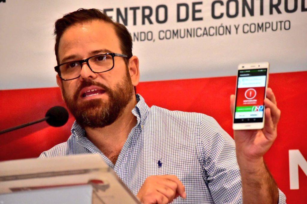 App Antiextorsión Sonora
